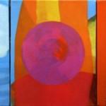 ¨Buscando el espacio de silencio¨   óleo-tela   25 x 100 cm   2009