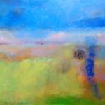 La tierra de Paula  /  óleo sobre tela  /  90 x 120 cm  /  2015