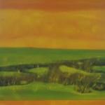 """""""Lluvia de sol""""   óleo-tela   100 x 90cm   2008"""