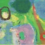 ¨Visión Chamánica¨ óleo-tela  70 x 120 cm 2013