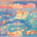¨Agua y sol¨  óleo-tela 70 x 120 cm 2013