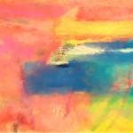 ¨Ocaso en la isla¨      óleo-tela   68 x 95cm    2011