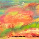 ¨Cinco elementos¨   óleo-tela   72 x 98.5 cm   2011