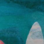 """cristal de roca y mar""   óleo-tela   80 x 120 cm   2006"