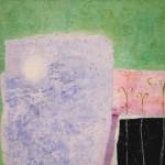 """""""Balcón y luna""""   óleo-tela   60 x 80 cm   2006"""