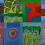 ¨Ruta de luz¨  óleo-tela   50 x 80 cm   2009
