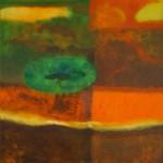 ¨Viaje chamanico¨   óleo-tela   160 x 100 cm   2008